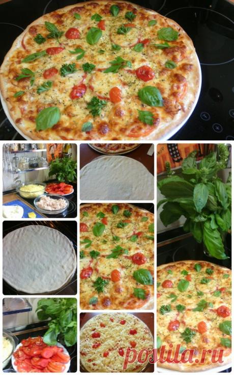 Простые рецепты. Тесто для пиццы