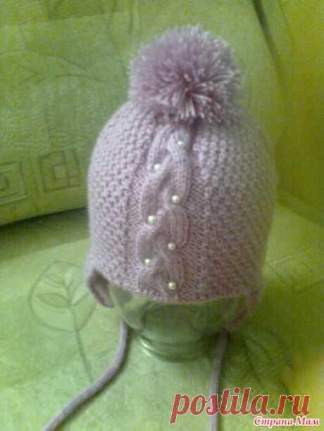 Шапочка на зиму для моей малышки - Вязание для детей - Страна Мам