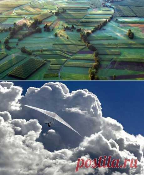 Земля и небеса.