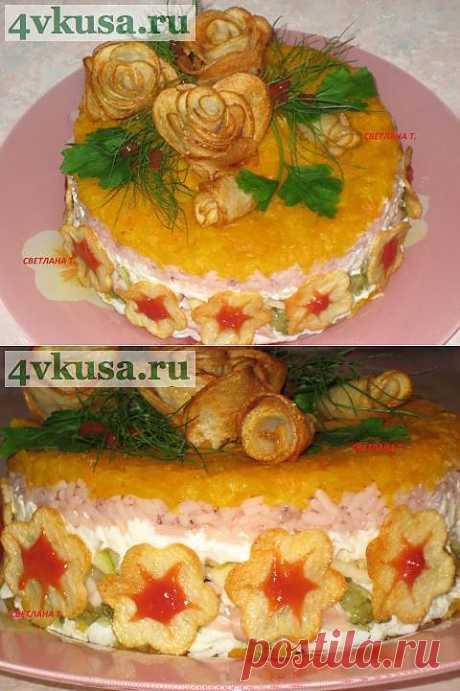 "Салат ""Праздничный"" | 4vkusa.ru"