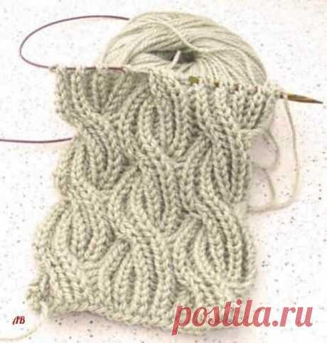 Вяжем шарфик в технике Бриошь (Вязание спицами) Так же этот узор отлично подойдёт для вязания зимней шапочки Этот мягкий, объемный, легкий шарф выглядит одинаково красиво с обеих сторон. На первый взгляд узор может показаться сложным, но если ра…