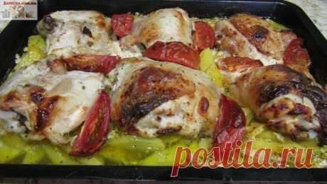 Курица с картошкой в кефире Если вы хотите приготовить несложное, но вкусное блюдо, то этот рецепт именно для вас. Курица с картошкой в кефире готовится очень просто, получается очень нежной, подходит как для ежедневной подачи, …