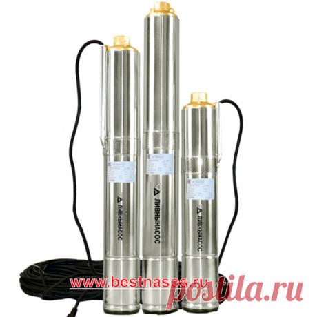 Центробежный скважинный насос Ливнынасос БЦП 0,5-40 (м)