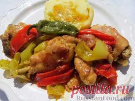 Recipe: Chicken in Italian on RussianFood.com