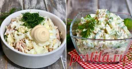Как приготовить легкий салат с бужениной и огурцом   Со Вкусом