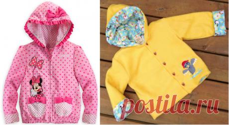 Выкройка куртки с капюшоном для девочки (Шитье и крой) – Журнал Вдохновение Рукодельницы