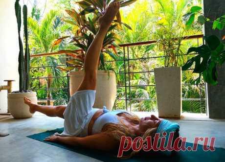 Простая йога для похудения, от запора, для нормального пищеварения и пробуждения энергии жизни | ✧Сама себе косметолог✧ | Яндекс Дзен