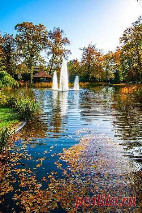 Городской парк в Люксембурге
