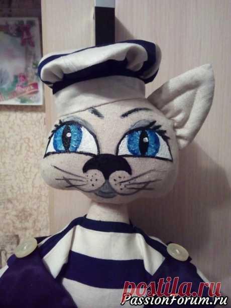 Пакетница -кот. - запись пользователя панда (Светлана) в сообществе Мир игрушки в категории Разнообразные игрушки ручной работы