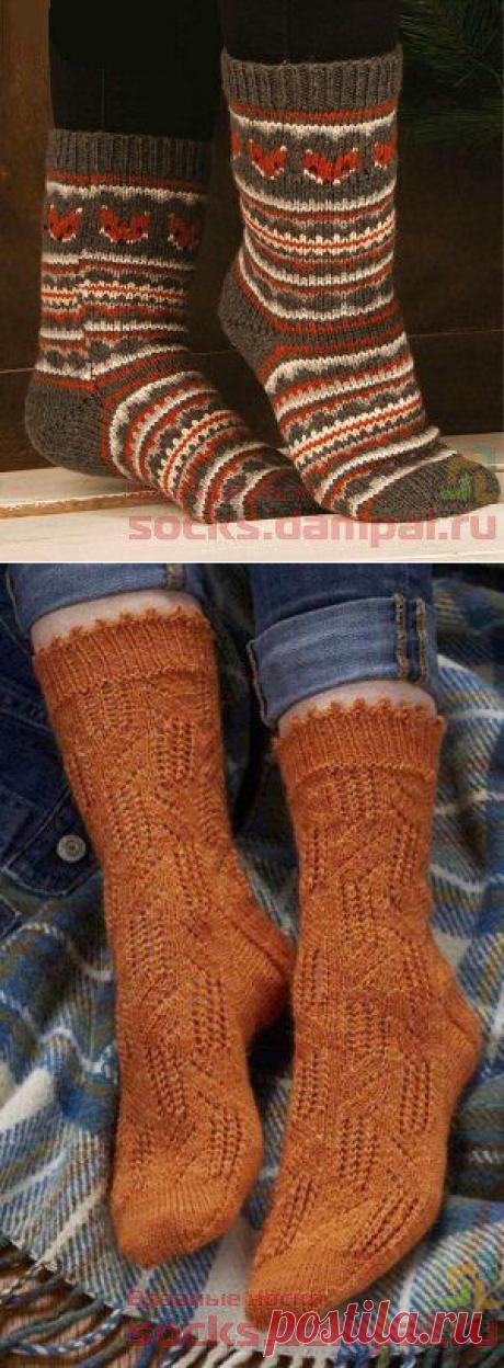 Вязаные носки - Part 2