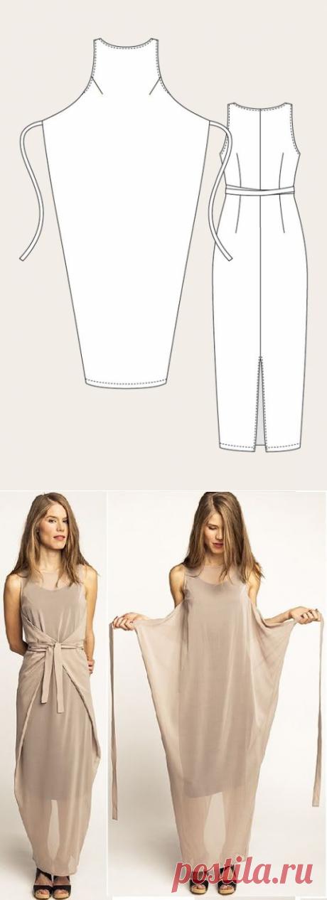 Платья летние — два варианта в одном — Рукоделие