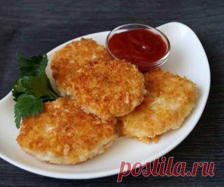 Веб Повар!: Котлеты из крабовых палочек с сыром