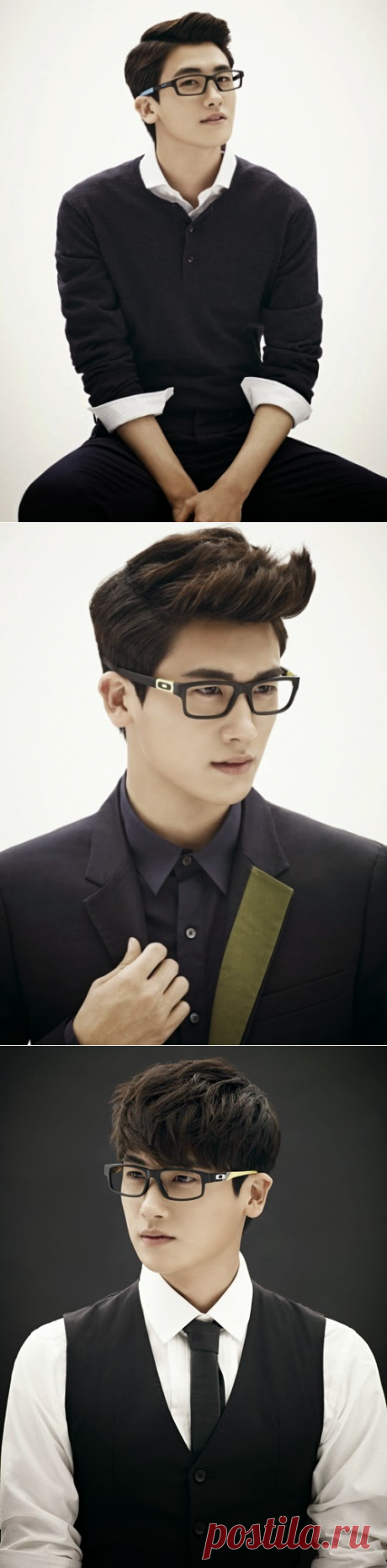 ZE: A Hyung Shik (박형식) Oakley Illustrated open