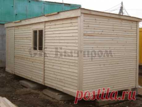 B-01 change house (6 m) of DVP
