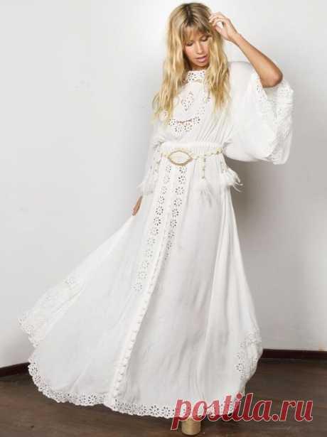 Стильные платья бохо с мировых подиумов. – В РИТМЕ ЖИЗНИ