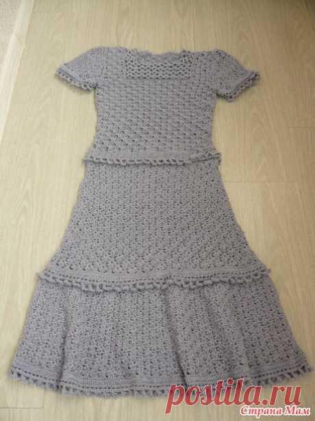 Платье Жасмин Ванессы Монторо - Вязание - Страна Мам