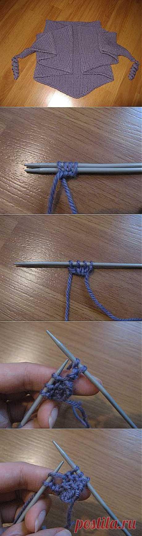 МК по вязанию бактуса спицами.