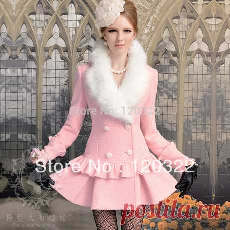 coates consulting Picture - More Detailed Picture about DABUWAWA Authentic New 2014 Autumn and Winter Thick Wool Fur Collar Skirt Slim Vintage Pink Long Trench Coat Women's Coats Picture in Wool & Blends from PINK DOLL Trade Co.,Ltd | Aliexpress.com | Alibaba Group