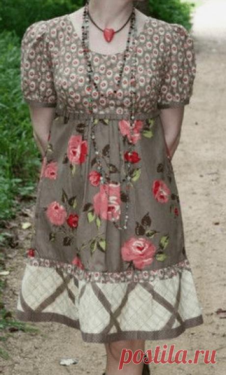 Старинные платья с жабо - DIY - прессформа, вырезывание и шить - Марлен Mukai