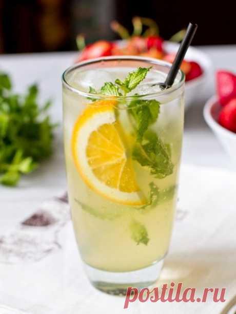 Рецепт мятного лимонада