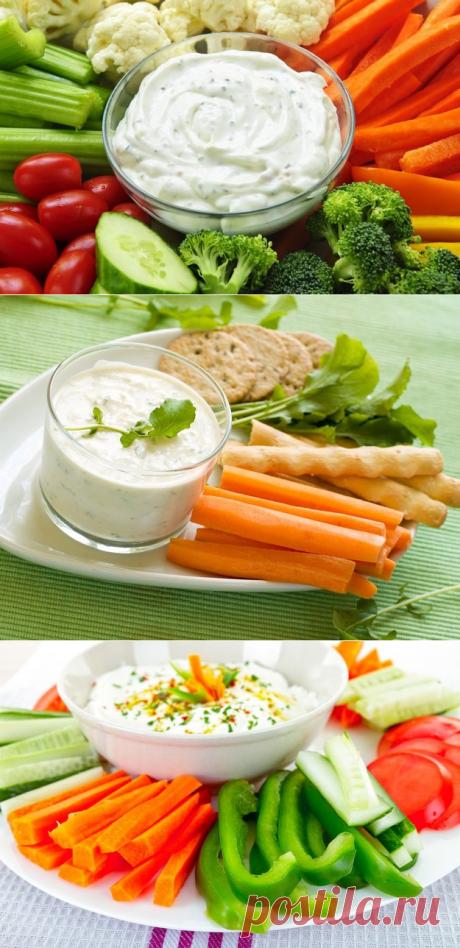 Пять вкуснейших соусов к вашим овощам - KitchenMag.ru