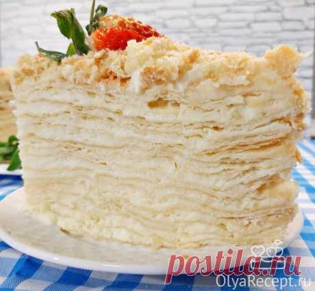 Торт Наполеон: классический рецепт пошагово с фото в домашних условиях
