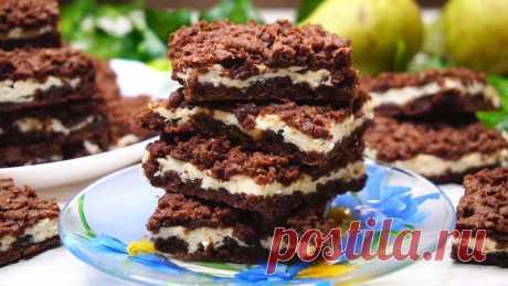 Какое же оно Вкусное! Шоколадное печенье с творогом Шоколадное печенье с творожной начинкой. Полюбит и одобрит каждая хозяйка! Получается нежное, недорогое и вкусное, очень нравится деткам! Процесс приготовлен...