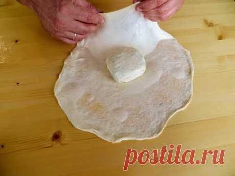 Заверните лепешку в лепешку / Новый вкусный рецепт слоеной лепешки с начинкой