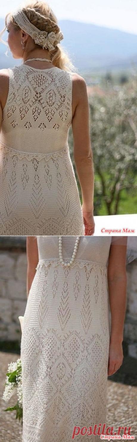 предложение для онлайна платье по шетландским мотивам - Страна Мам