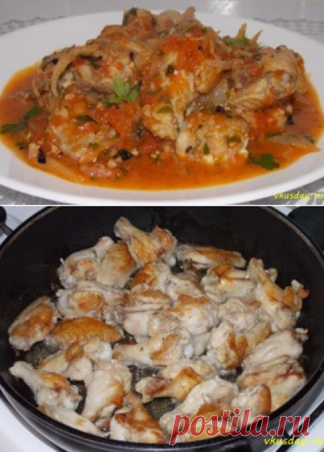 Чахохбили из курицы | Вкусный день
