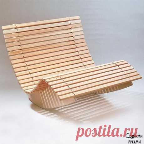 Кресло-качалка для двоих на балкон или дачу своими руками.