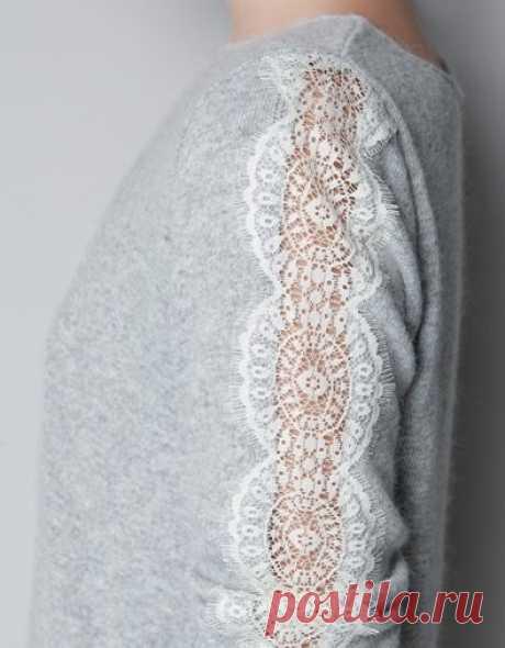 Как увеличить свитер / Изменение размера / Модный сайт о стильной переделке одежды и интерьера