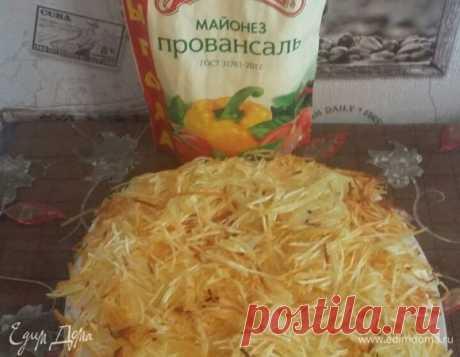 Салат «Блондинка» рецепт 👌 с фото пошаговый | Едим Дома кулинарные рецепты от Юлии Высоцкой