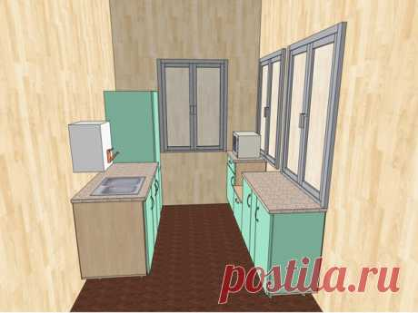 Кухня на даче. Константин Федоров