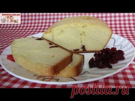 Нежный кекс с вишнёвыми цукатами на сгущённом молоке