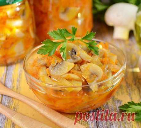 Грибное рагу на зиму — Sloosh – кулинарные рецепты