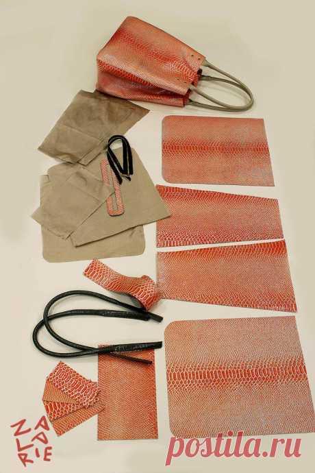 Как сшить сумку-шоппер с двойной магнитной застежкой за 15 шагов | Журнал Ярмарки Мастеров