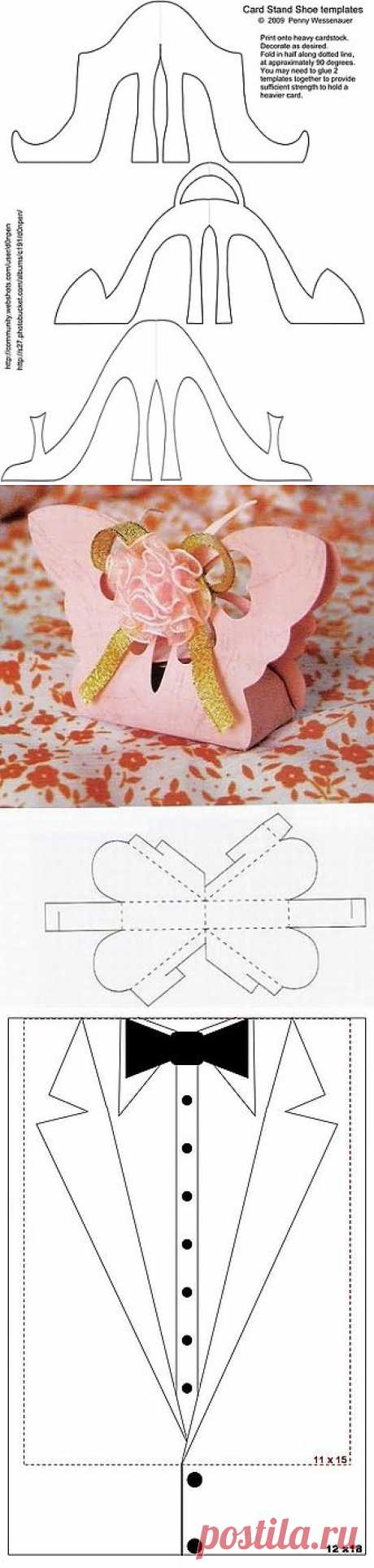 Templates for scrapbooking.