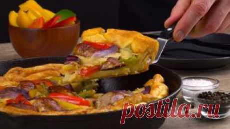 """Как вы думаете, как выглядит блюдо английской кухни под названием """"жаба в норке""""? Сейчас посмотрим! Это английское блюдо – что-то невероятное! Революция на тарелке."""