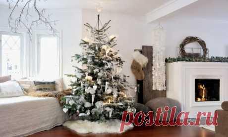 Как украсить дом на Новый год: 50+ фотографий и примеры создания украшений своими руками | Интерьерро | Яндекс Дзен