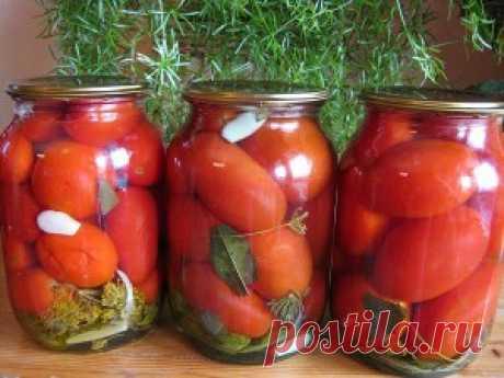 Вкусные помидорчики…