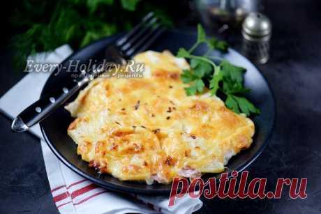 Куриное филе с ананасом и сыром в духовке, рецепт с фото