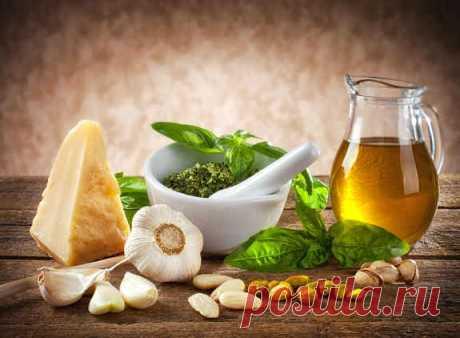 Как правильно сделать классический соус песто | Официальный сайт кулинарных рецептов Юлии Высоцкой
