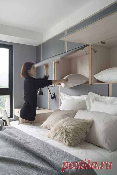 Мебель для малогабариток и маленьких квартир (МНОГО ФОТО) Модная одежда и дизайн интерьера своими руками