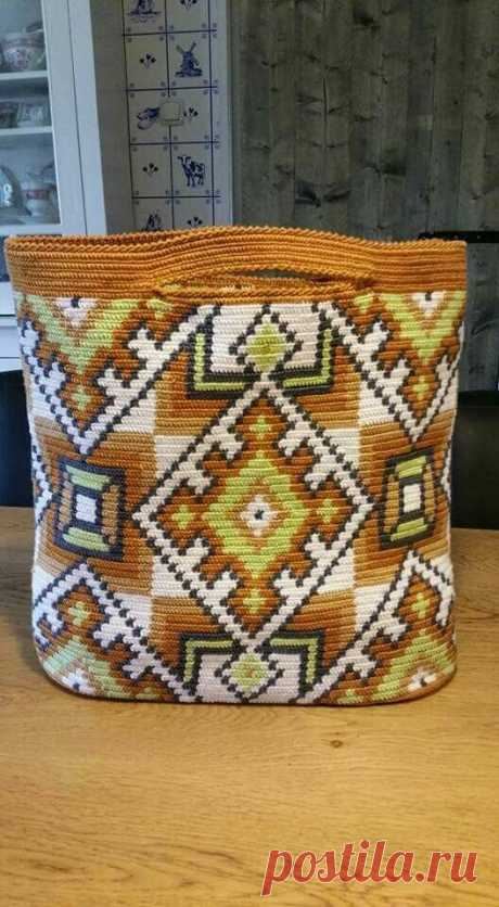 Вязаные сумки со схемами | Модное вязание | Яндекс Дзен