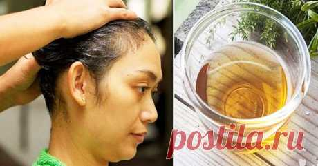 This simple trick will force your hair grow intensively and all will admire their gloss and volume! I even did not expect such effect! My hair very strongly dropped out, and now they strong and beautiful! Try also you!
