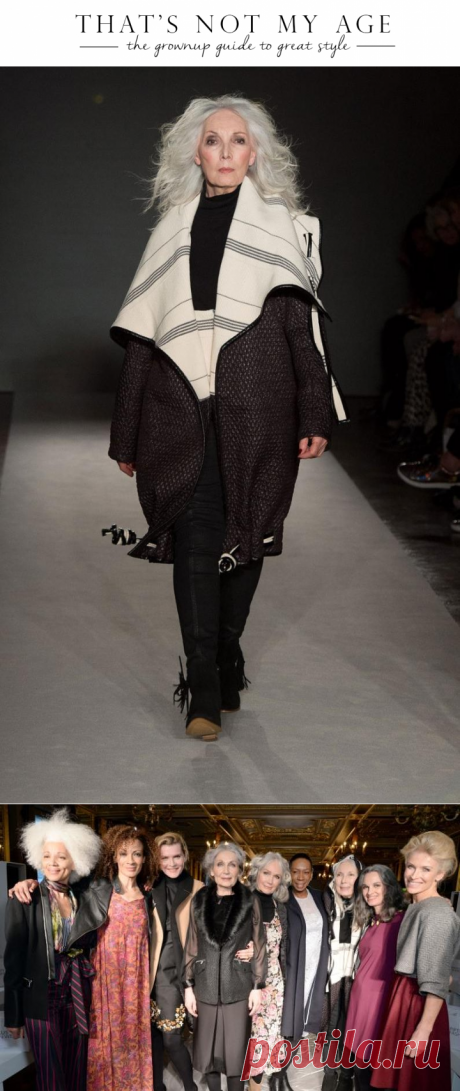 50-plus fashion week - That's Not My Age