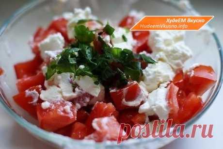 Легкий диетический творожный салат для худеющих   Худеем Вкусно