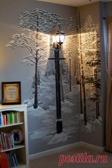 Дерево на стене своими руками: 10 идей для вдохновения