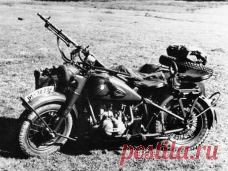 Мотоциклы Вермахта, BMW и Zundapp | Ромка Чёрный | Яндекс Дзен